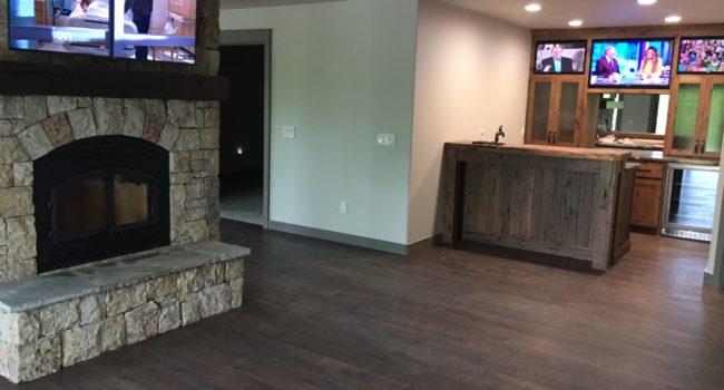 Game Room / Bar TV Installation